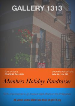 Members Holiday Fundraiser – Nov. 27 – Dec. 8