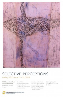 Selective Perception: June 11 – 22