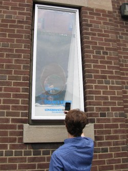Window Box Gallery  SELFIE: An installation by Lisa Anita Wegner up for the month of July