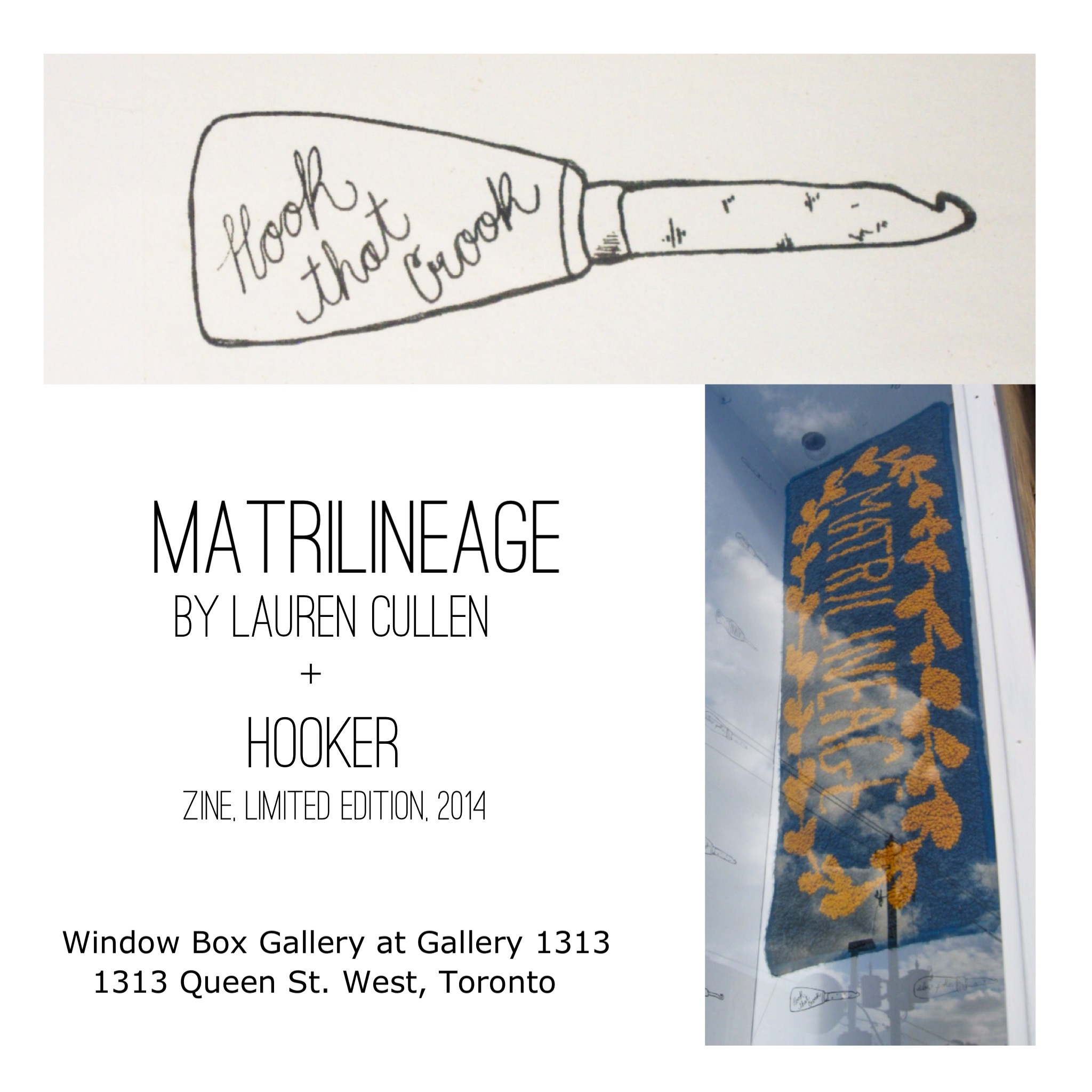 MATRILINEAGE by Lauren Cullen, Window Box Gallery