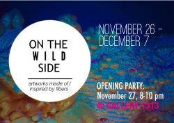 ON THE WILD SIDE, Nov 26 – Dec 7