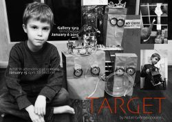 TARGET by NOLAN GEORGAKOPOULOS, Window Box, January 2015