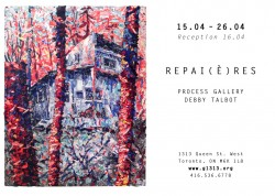 Repai(è)res by Debby Talbot, April 15 – 26, 2015