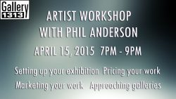 Artist Workshop with Phil Anderson