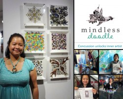 Mindless Doodles Art Therapy Installation by Angela Chao