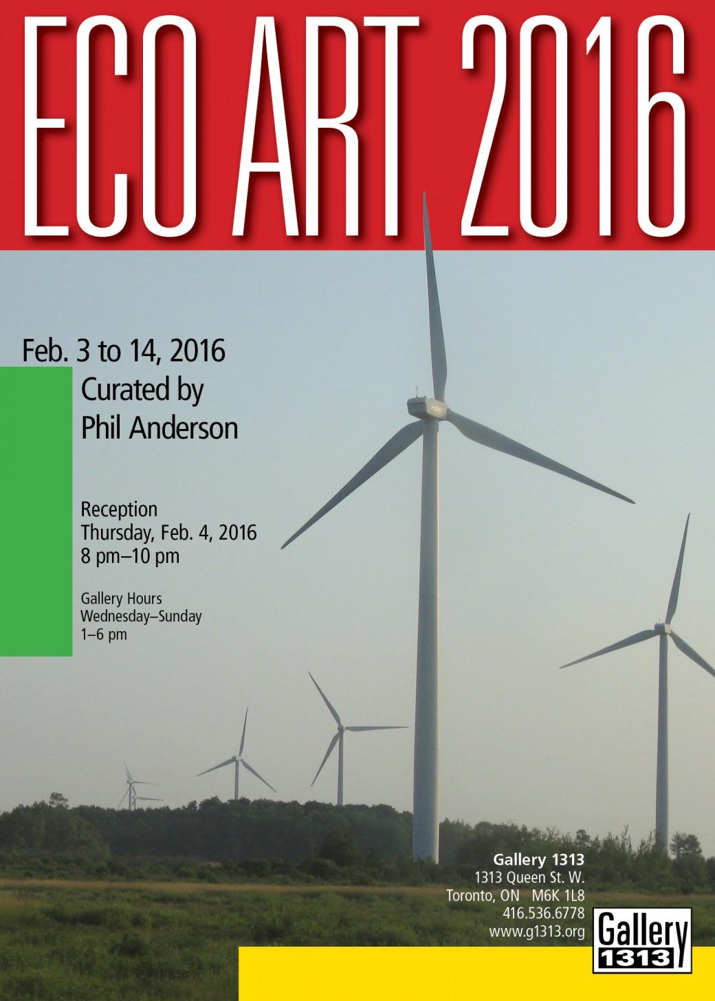 SNAP Bloor West : Eco Art Show 2016