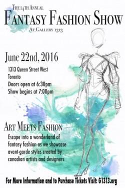 14th Annual Fantasy Fashion Show