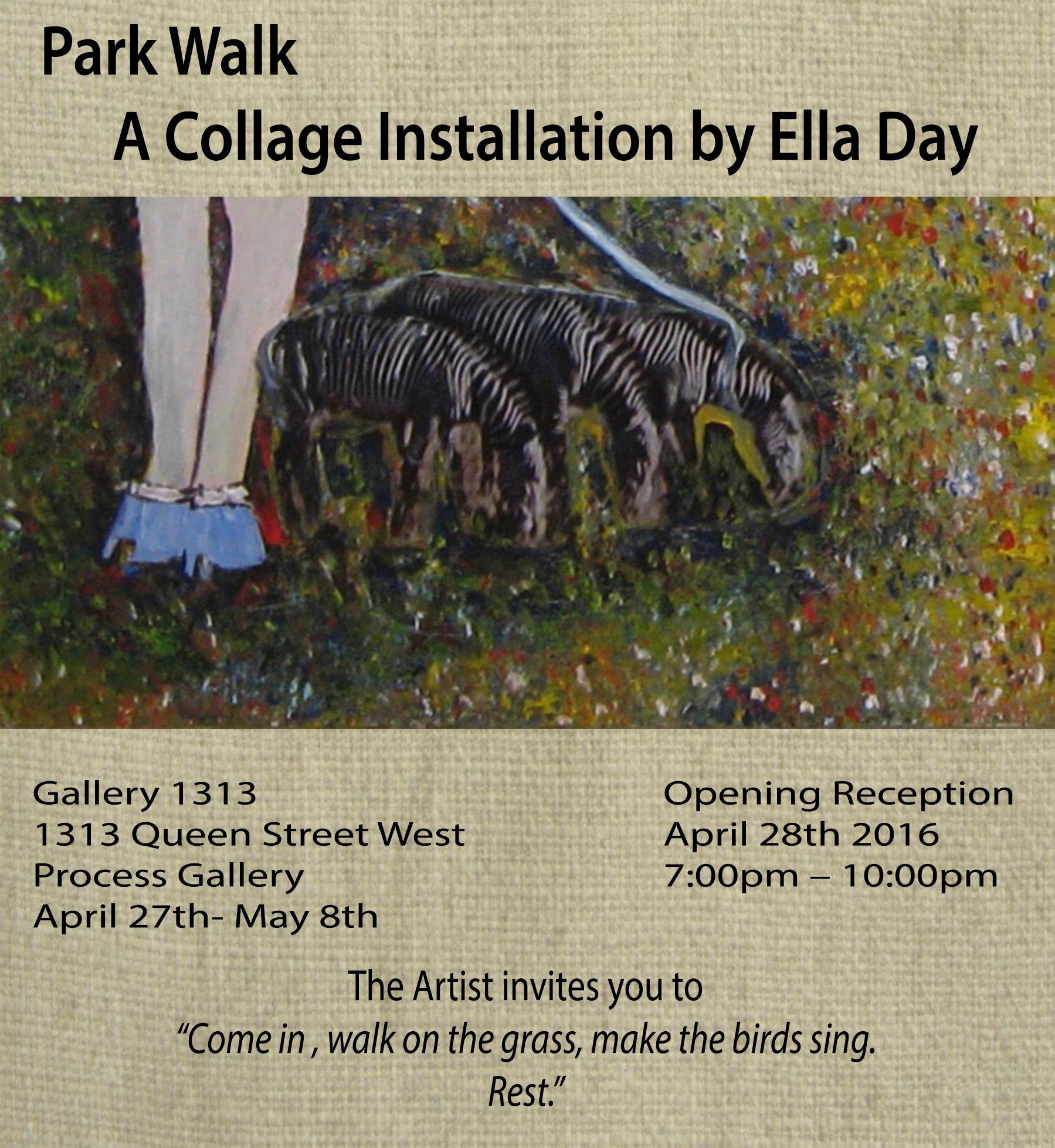 Park Walk by Ella Day