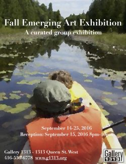 Fall Emerging Artist Exhibition