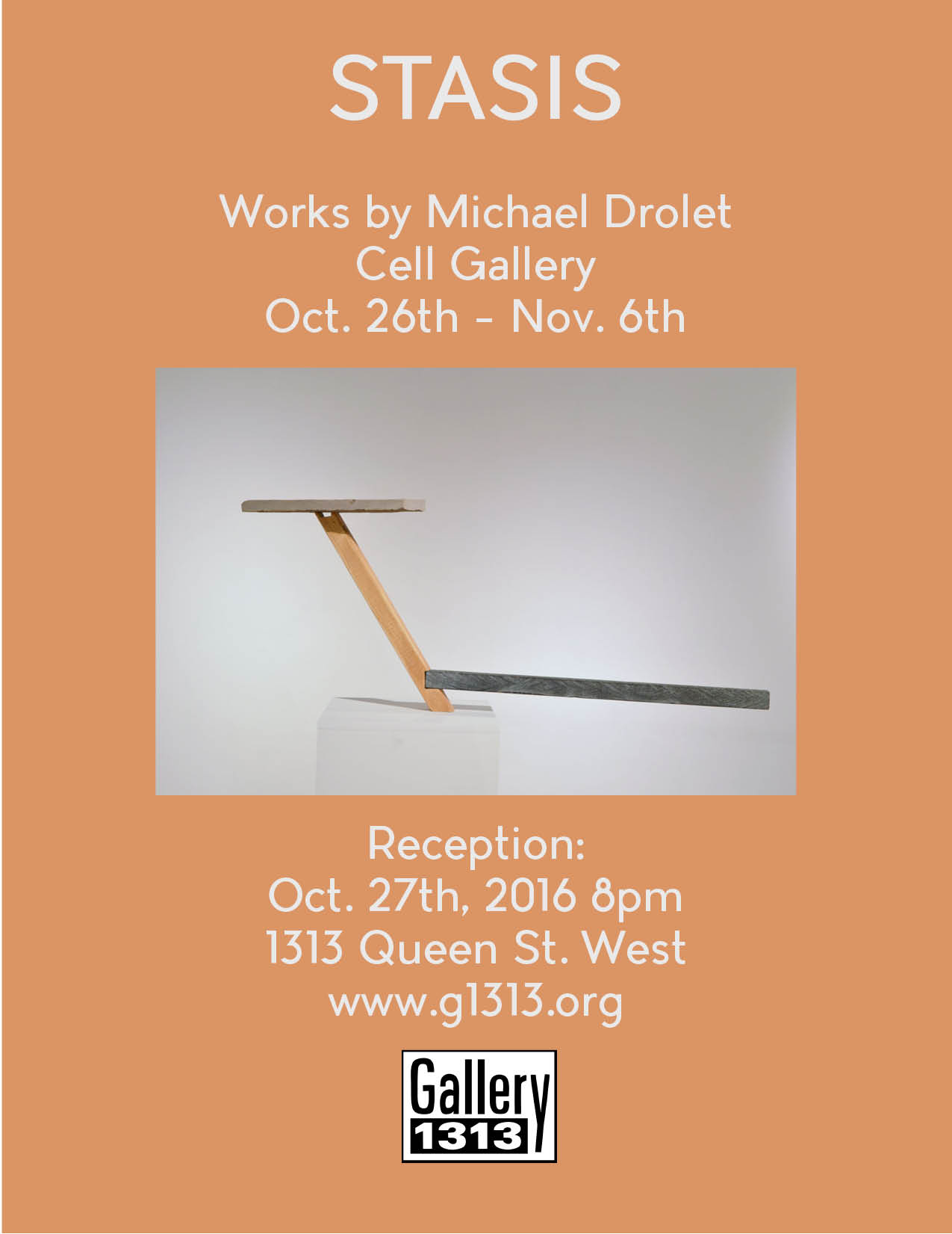 Stasis: Works by Michael Drolet