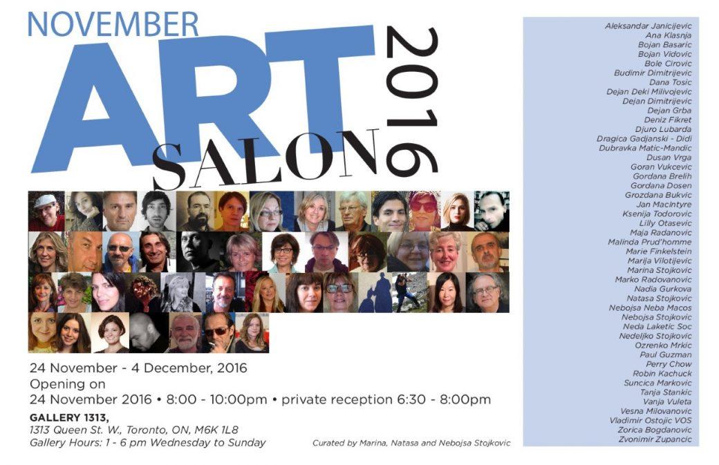November Art Salon 2016