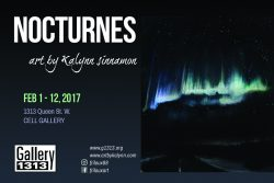 NOCTURNES art by Kalynn Sinnamon Feb 1-12