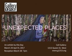 Unexpected Places Mar 29 – Apr 9