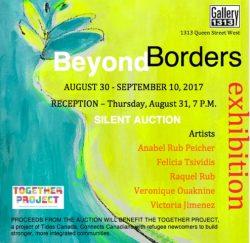 Beyond Borders, Aug 30 – Sep 10