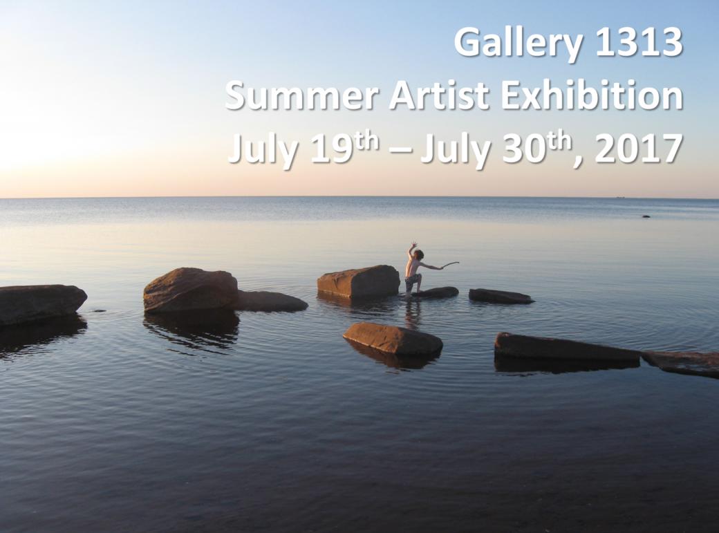 Summer Artist Exhibition July 19 – 30