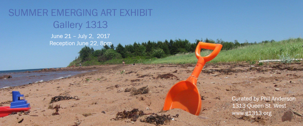 Summer Emerging Art Exhibit June 21 – July 2