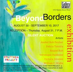 Beyond Borders, Aug 30 – Sep 10