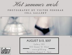 Voitek Pendrak – Hot Summer Work – August 2-13