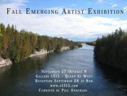 Fall Emerging Artist Exhibition Sep 27 – Oct 8