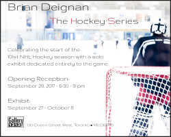 Brian Deignan – The Hockey Series – Sep 27 – Oct 8