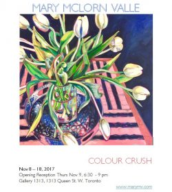 Mary McLorn Valle – COLOUR CRUSH – Nov 8 – 18