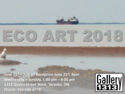 Eco Art 2018 – June 21 – July 1