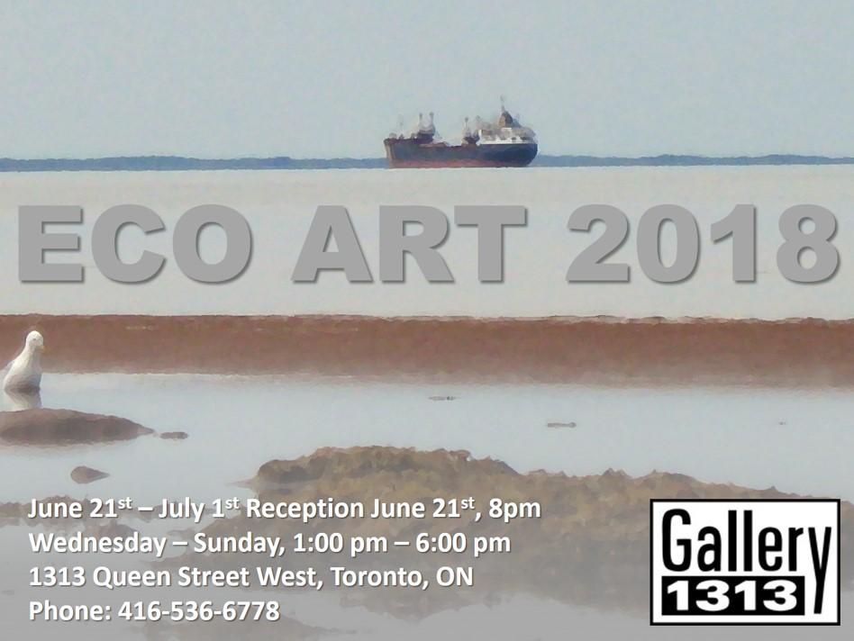 Eco Art 2018 – June 21 – July 1