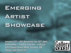 Emerging Artist Showcase – Jan 17 – 28