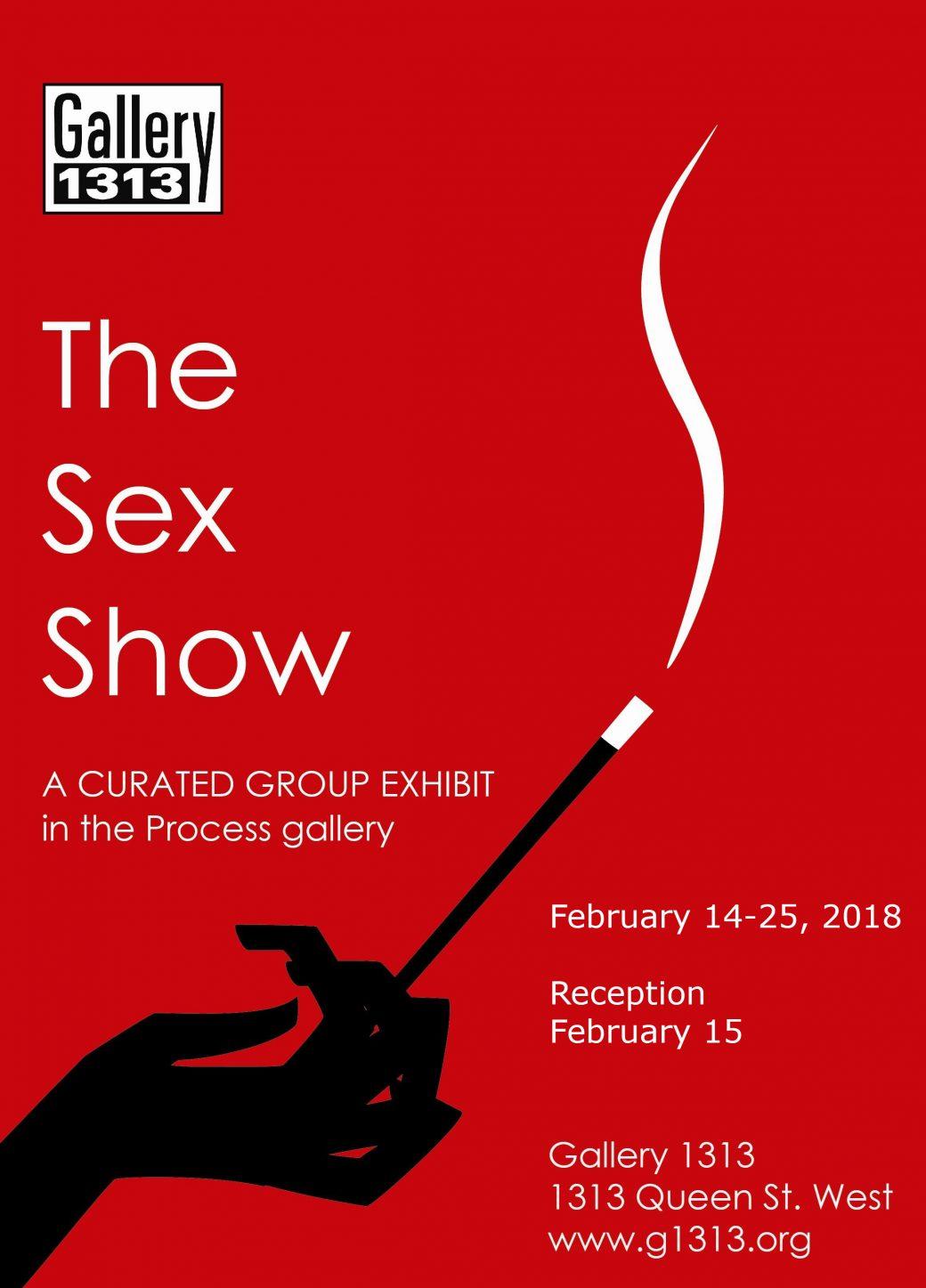 The Sex Show – Feb 14 – 25