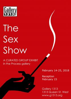 The Sex Show – Feb 14 – 25