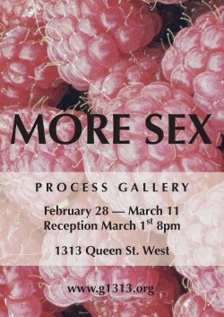 More Sex – Feb 28 – Mar 11