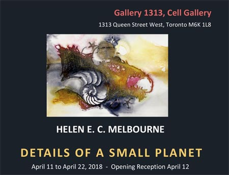Helen Melbourne – Details of a Small Planet – April 11 – 22