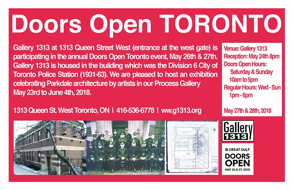 Doors Open Toronto – May 27 + 28