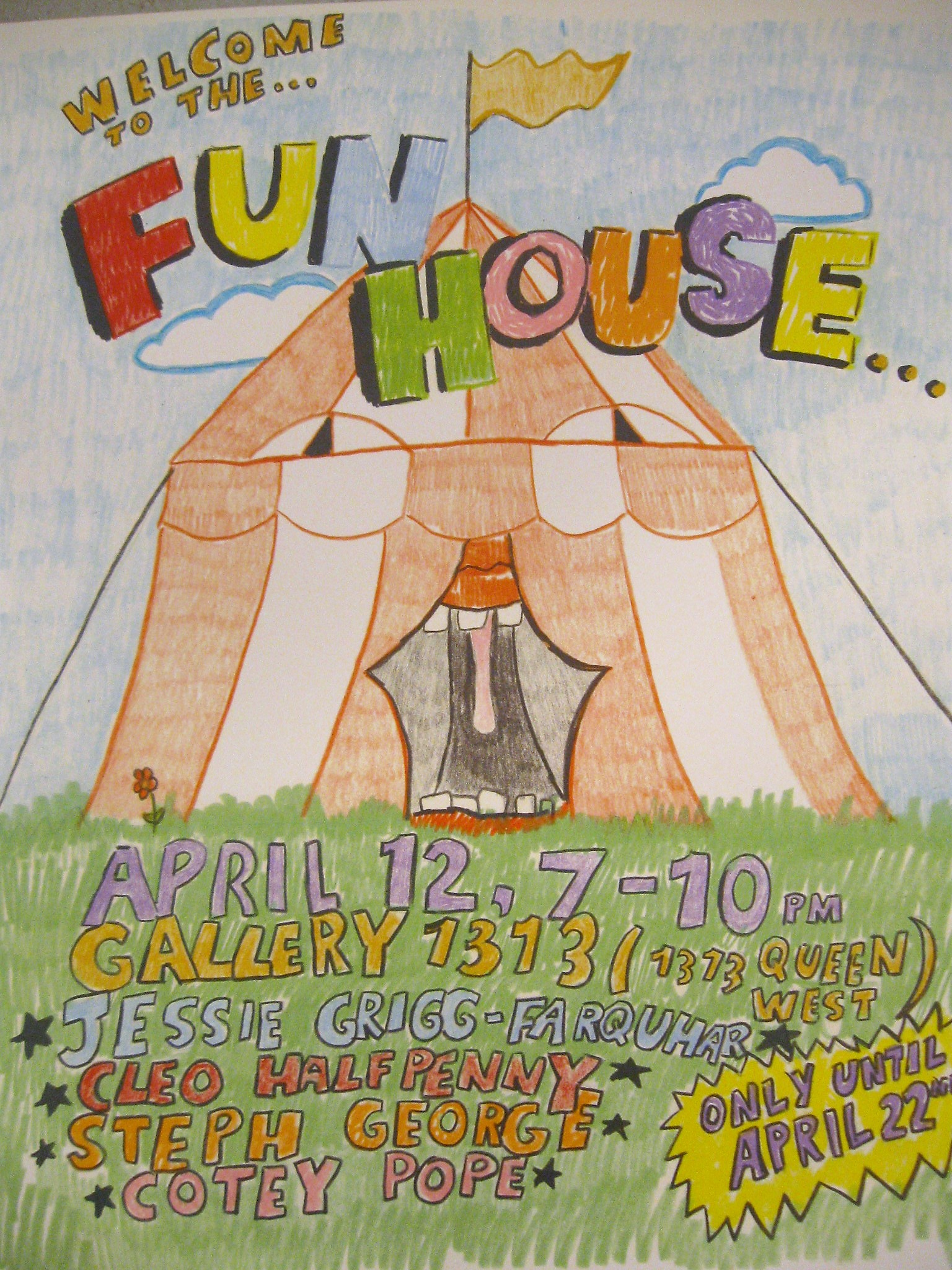 WELCOME TO THE FUN HOUSE – OCADU – April 11 – 22